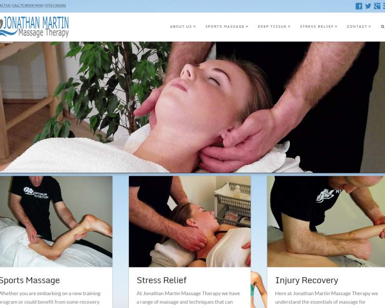JMMassage Therapy Featured