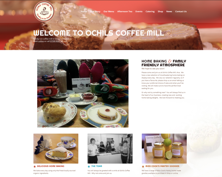Ochils Coffee Mill