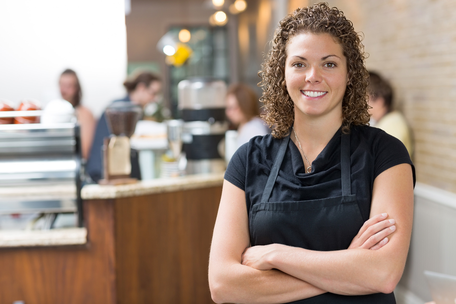 http://www.dreamstime.com/stock-images-happy-owner-standing-arms-crossed-cafe-portrait-mid-adult-female-image35691134
